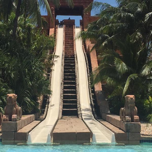 Water slide Atlantis Resort Paradise Island Bahamas