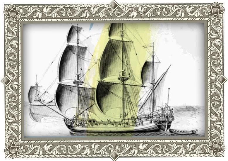 Queen Anne's Revenge Pirate Ship Graphic