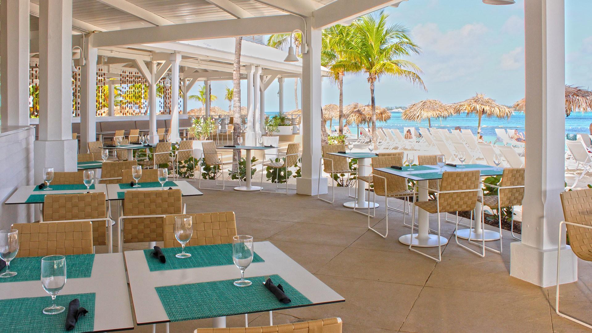 Melia Nau Beach Resort All Inclusive The Bahamas Restaurants Best